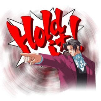 Hold It! Miles Edgeworth