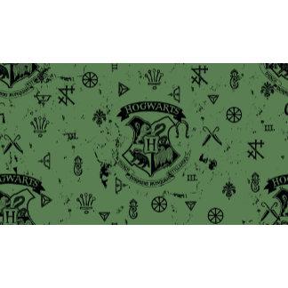 HOGWARTS™ Green Pattern