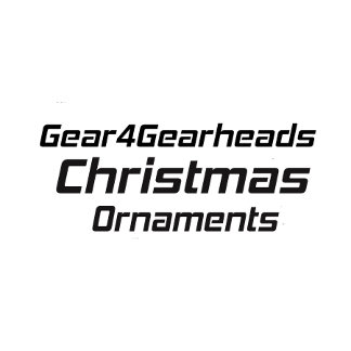 Christmas Ornaments By Gear4gearheads
