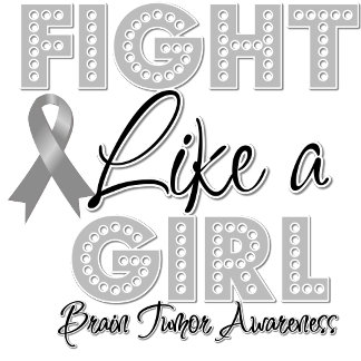 Fight Like a Girl Dazzling - Brain Tumor