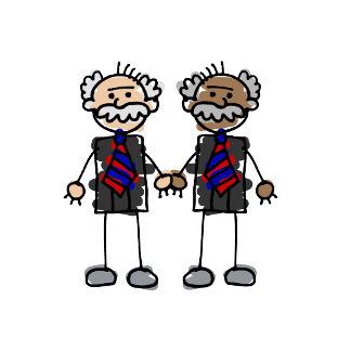 Old Interracial Couple