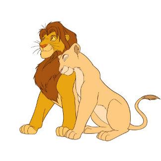 Lion King's Adult Simba and Nala