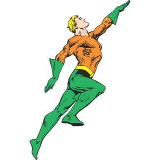 Aquaman Leaps Up