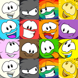 Puffle Expressions
