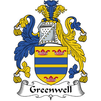 Greenwell Family Crest / Coat of Arms