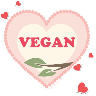 Vegan Heart t-shirts & gifts