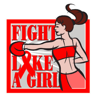 Blood Cancer Fight Like A Girl Boxer