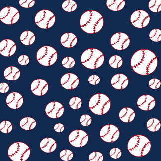 Baseball - Blue Background