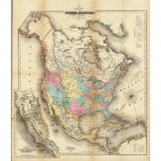 Map of North America 2