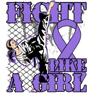 Hodgkin's Lymphoma Fight Like A Girl Kick