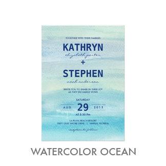 Watercolor Ocean