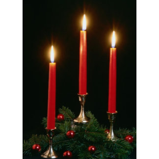 Holiday Candles | Christmas Candles | Xmas Candles