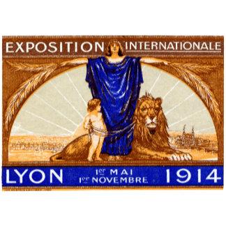 1914 Lyon International Expo Poster