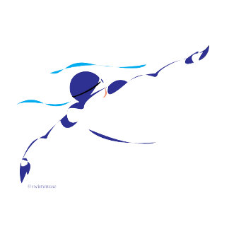 Abstract Backstroke 1