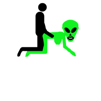 Funny,rude aliens sex T shirts for fans of aliens