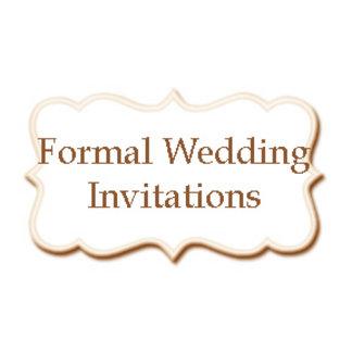 •Formal Wedding Invitations