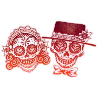 Los Novios - Red & Pink