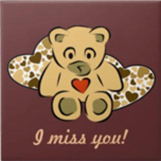 """I miss you"" Bear"