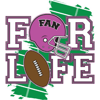 Football Fan Purple