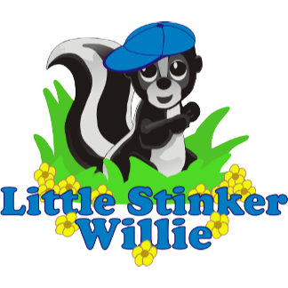 Little Stinker Willie Personalized
