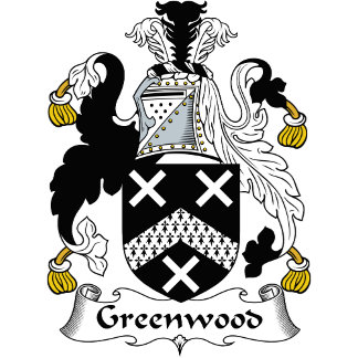 Greenwood Family Crest / Coat of Arms