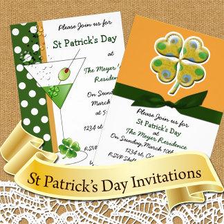St Patricks day Invitations