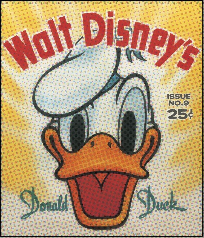 Donald Vintage Comic Cover
