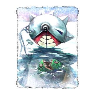 Pac Man Goes Fishing