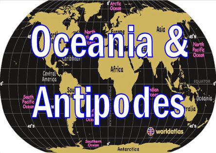 OCEANIA & ANTIPODES