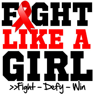 Blood Cancer Sporty Fight Like a Girl