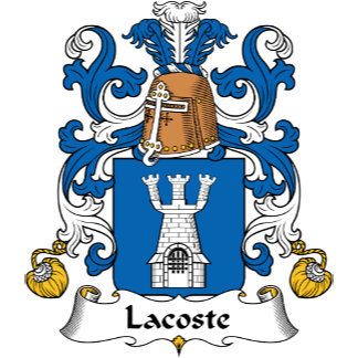 Lacoste Family Crest