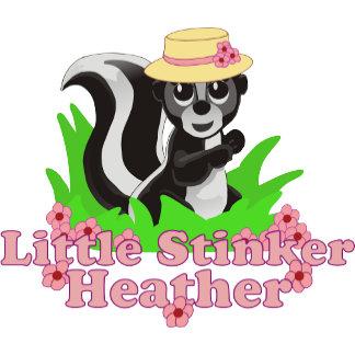 Little Stinker Heather Personalized