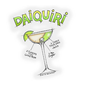 ab DAIQUIRI RECIPE COCKTAIL ART