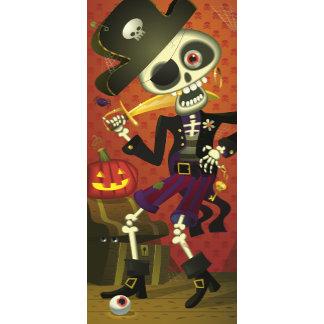 Halloween Pirate Skeleton