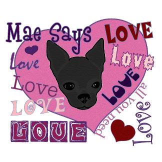 Mae Says Love!