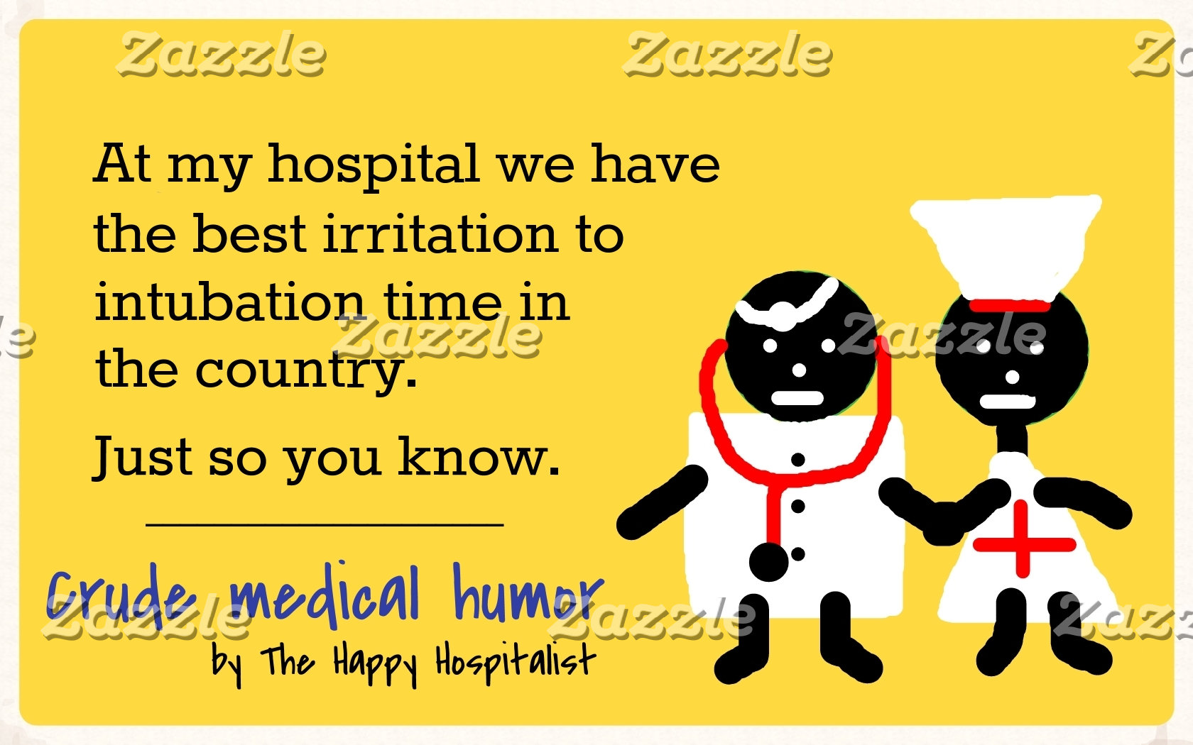 At my hospital we have the best irritation to...