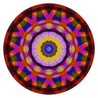 Quilted Wagon Wheel Mandala