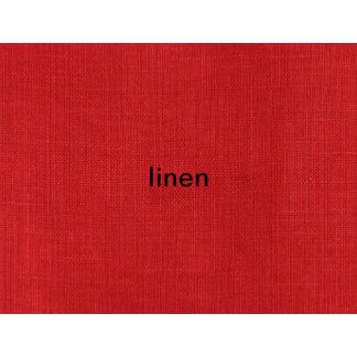 Red Linen Texture Photo