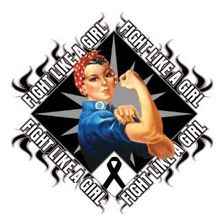 Melanoma Cancer Fight Rosie The Riveter