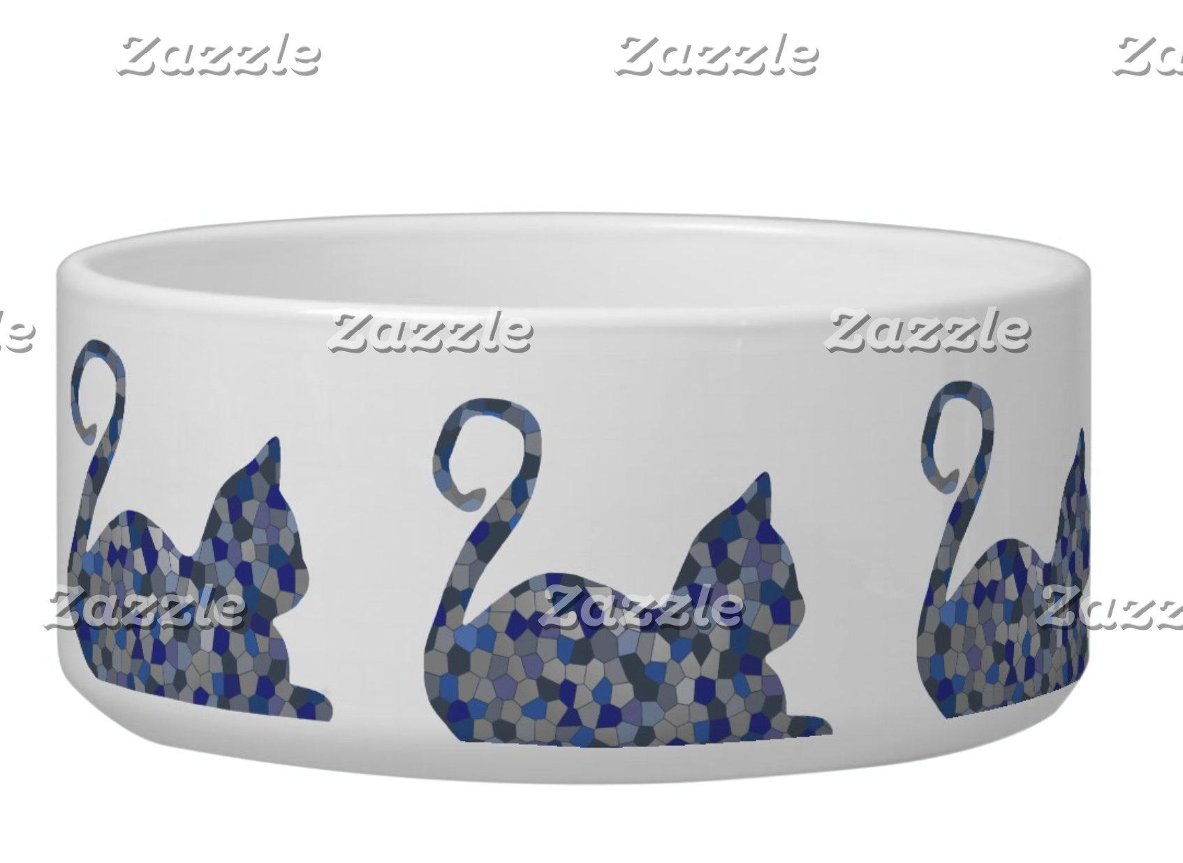 CrystalKatz Pet Bowls