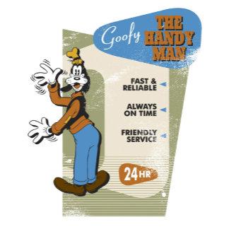 "Goofy ""The Handy Man"" Sign"
