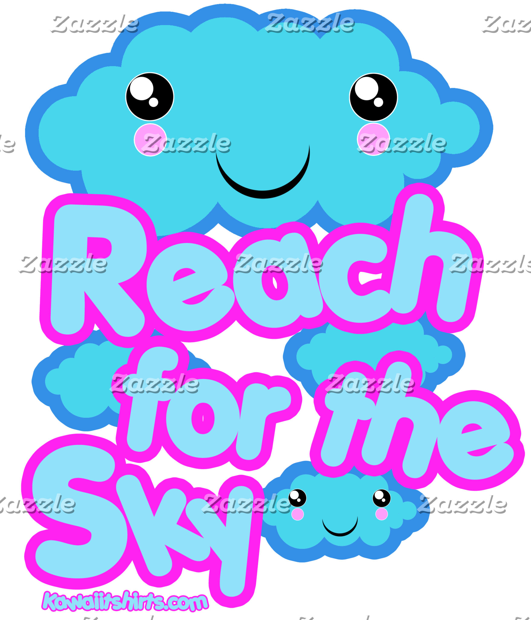 Cloud friends cute Kawaii t-shirts and more