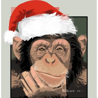 Santa Chimp