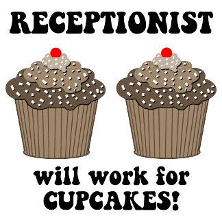 cupcakes receptionist