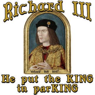 Richard III Car Park Humor