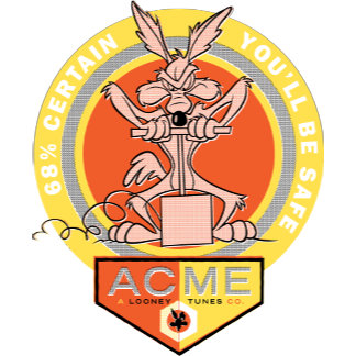 Wile E Coyote Acme - 68% Certain You'll Be Safe 2