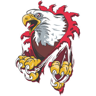 Intense Eagle T Shirts and Gifts