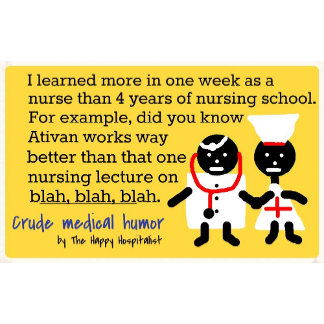 I learned more in one week as a nurse than 4 ye...