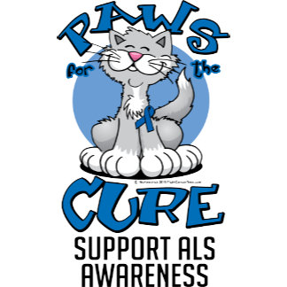 Paws for the Cure ALS Cat