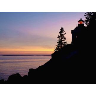 Bass Harbor lighthouse on Mt. Desert Island,